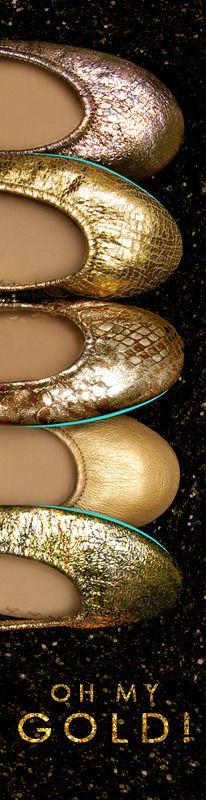Oh My Gold! #OMG - Tieks Ballet Flats