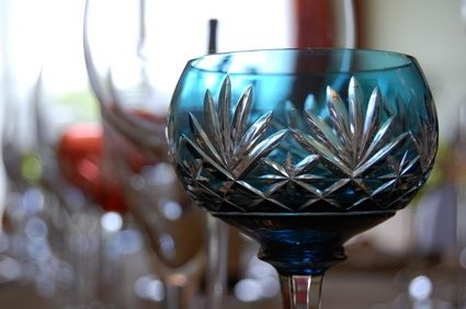 How to Find Out How Much My Crystal Glassware Is Worth?