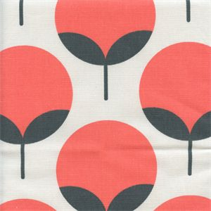 This is a salmon orange and charcoal grey contemporary drapery fabric by Premier Prints. This fabric is perfect for any home decorating project.v114IFR
