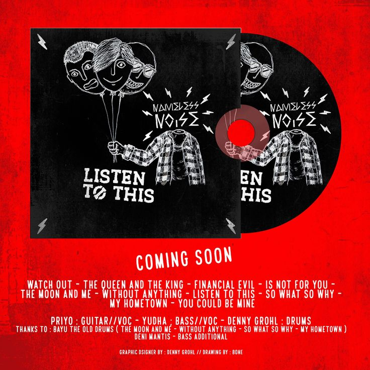 Coming Soon_CD Nameless Noise 2017_LISTEN TO THIS