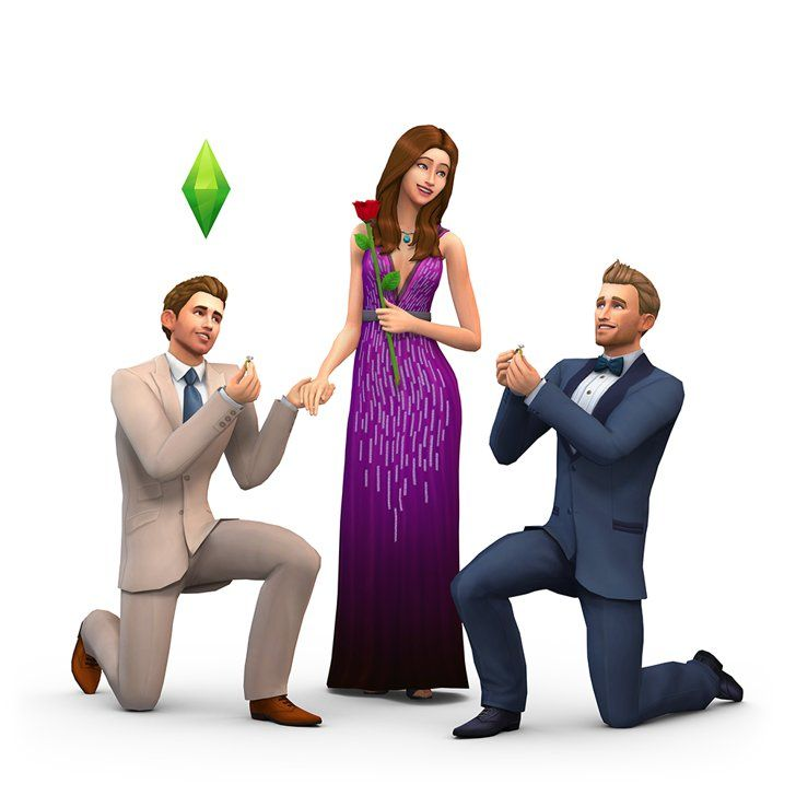 Pin for Later: Vote For Who Should Win The Bachelorette — as Sims Characters Or Nick?