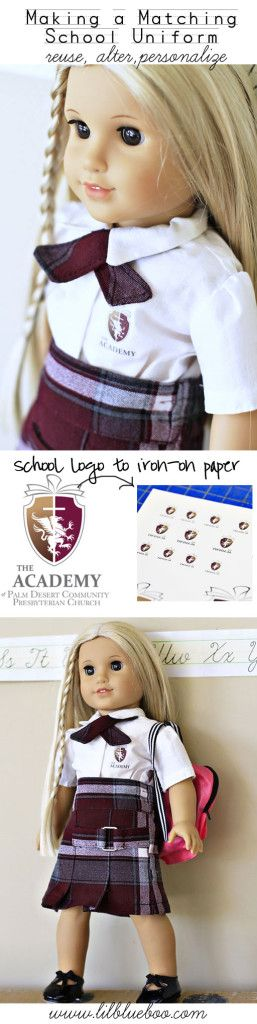 Recycled School Uniforms to Match