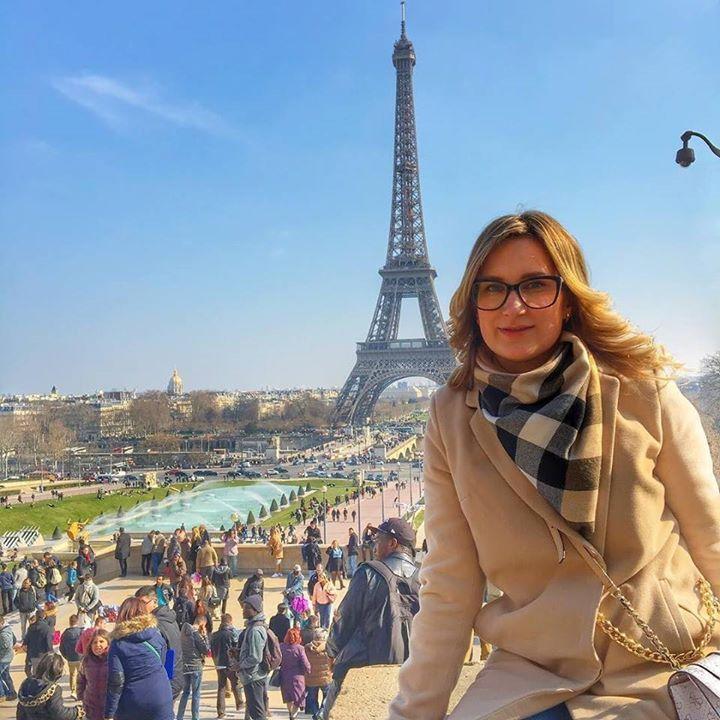 Ну вот и все подошли наши мини каникулы к концу  by marysja_cake Eiffel_Tower #France