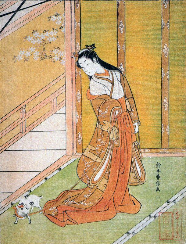 THE TALE OF GENJI    SUZUKI HARUNOBU