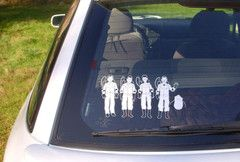 """Nuclear Family"" decal"