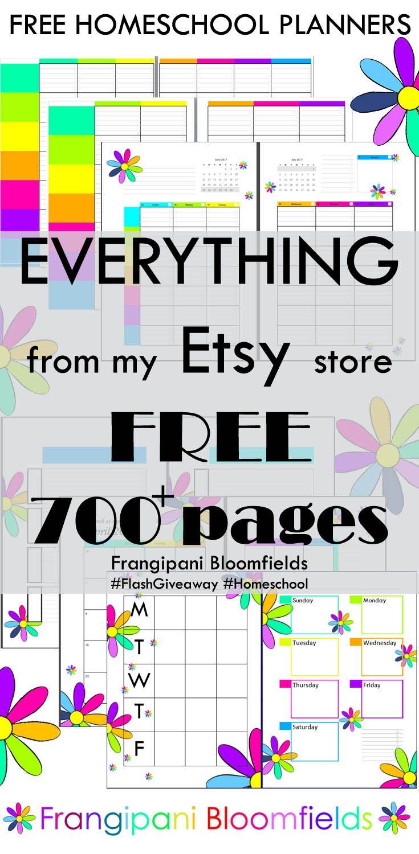70 Best Frangipani Bloomfields Homeschool Planners