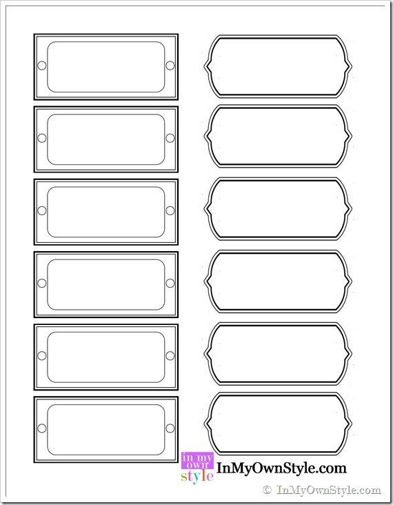 28 File Cabinet Drawer Label Template In 2020 With Images