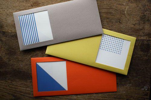 Square Window Envelopes