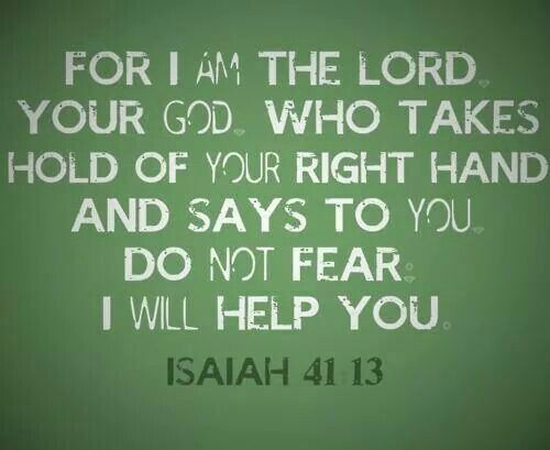 For I am the Lord your God.