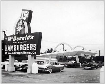 The May 15, 1940 Richard and Maurice McDonald opened the first McDonald's restaurant (pictured) in San Bernardino, California, but it was not until eight years later that began serving fast food. Ray Kroc a machine supplier to the restaurant became...