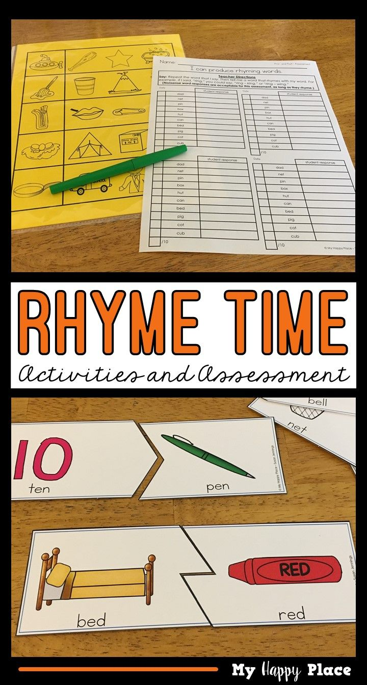 Worksheet Words Rhyming With Help 78 ideas about rhyming activities on pinterest phonemic awareness phonological and aware