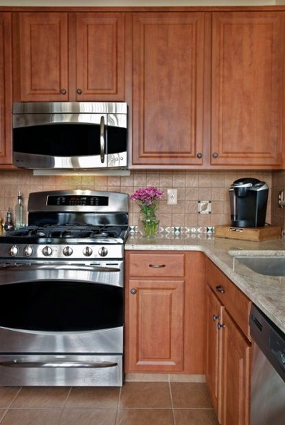 10 Kitchen Transformations That We Only Changed The Cabinets! [updated]