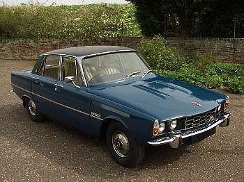 1966 Rover 3500 - A really posh car.