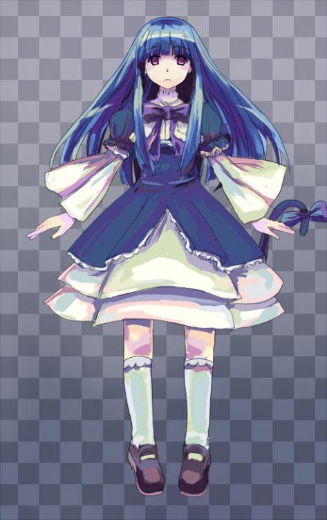 """marbledoll:  """" いーる """""""