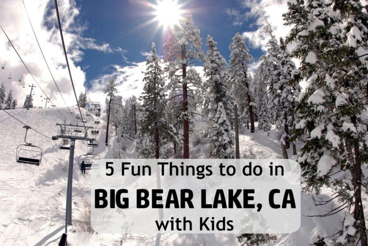 FAMILY SKI TRIP AT BIG BEAR LAKE