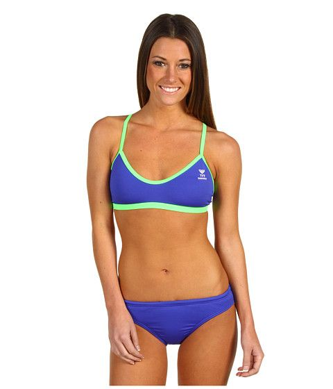 tyr durafast female microback workout bikini