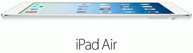 iPad Air will be released on November 1