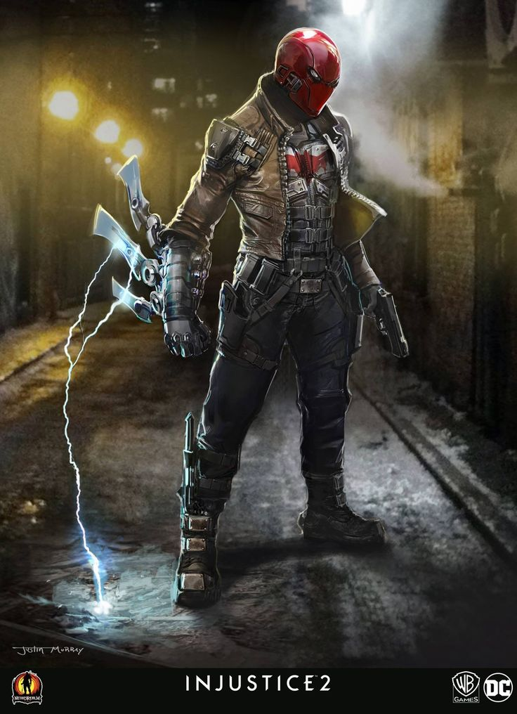 Artist Justin Murray has shared three pieces of concept art for Injustice 2 and along with a new take on Red Hood, we get to see designs for Power Girl and a drastically different take on Zoom...
