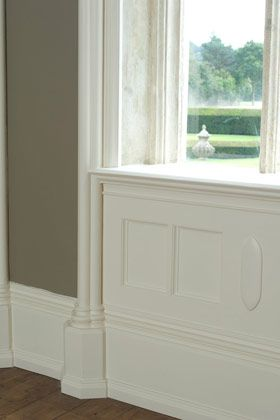 Farrow and Ball White Tie  the BEST trim color - gloss