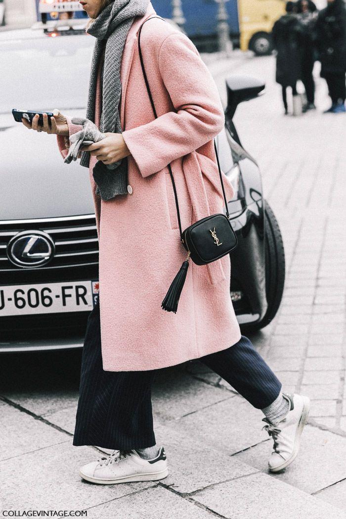 розовое пальто, parisian chic, парижский базовый гардероб