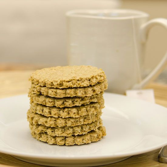 Gluten-Free Scottish Oatcakes  Prep Time: 15 minutes Cook Time: 25 minutes  • 1 1/2 cups Bob's Red Mill Gluten-Free Scottish Oatmeal • 6 tab...