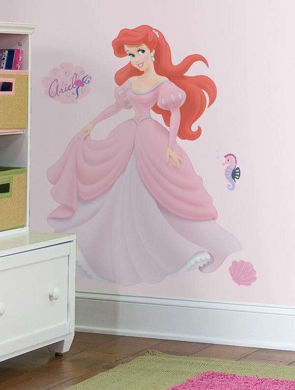 Disney Princess - Ariel Giant Peel and Stick Wall Decal