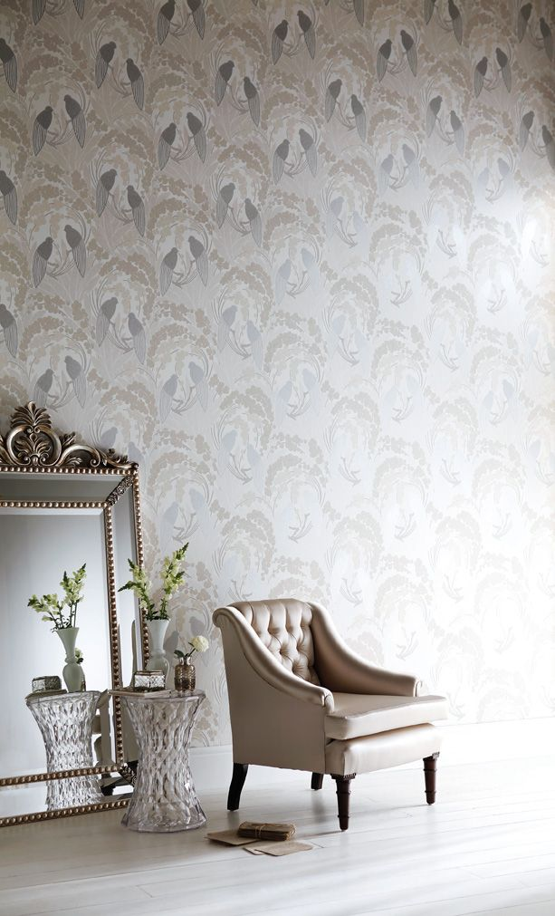 Buy Harlequin Lovebirds Wallpaper From Our View All Wallpapers Range At  John Lewis.