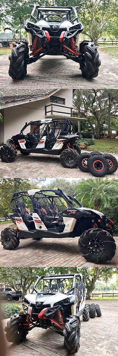 Power Sports ATVs UTVs: Can Am Maverick 1000R Max 4 Person Utv Atv Side By Side Not A Polaris Razor BUY IT NOW ONLY: $16500.0