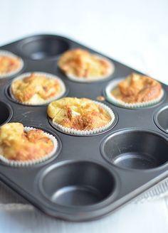 Pannenkoekenmuffins mmm lekker voor tussen de middag!