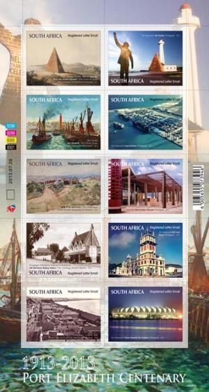 StampedeBeta - Stamp Profile - South African stamps to celebrate Port Elizabeth's centenary and cultural heritage – Stampnews.com