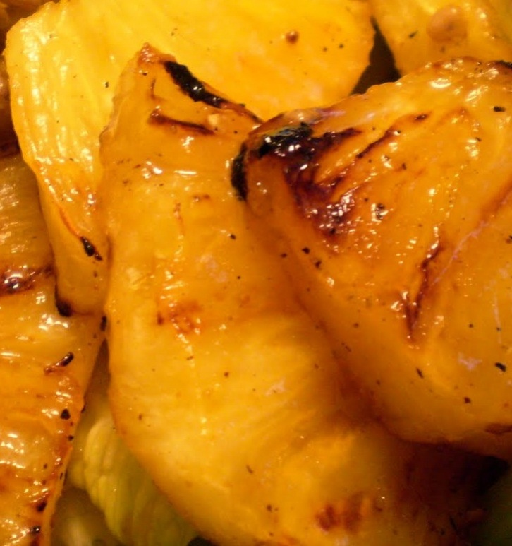 easy jerk chicken pineapple pepper bowl. if chicken is made first ...