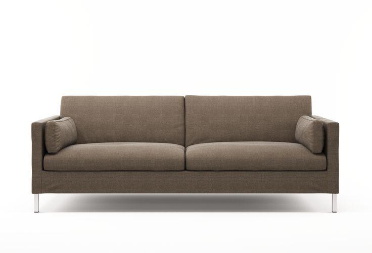 Jacobsen Stoffsofa Modernes Designer-Sofa mit klarer - designer couch modelle komfort