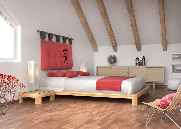 best 25+ letto tatami ideas on pinterest | camere da letto a ... - Arredamento Moderno Giapponese