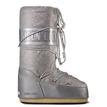 Delux Moon Boot Silver, $126, now featured on Fab.
