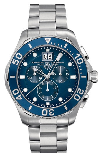 TAG Heuer 'Aquaracer' Chronograph Watch