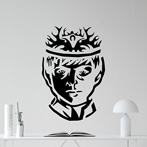 King Joffrey Baratheon Wall Decal Game Of Thrones Vinyl Sticker Fantasy Movie Wall Art Design Housewares Kids Room Bedroom Decor Removable Wall Mural 40zzz
