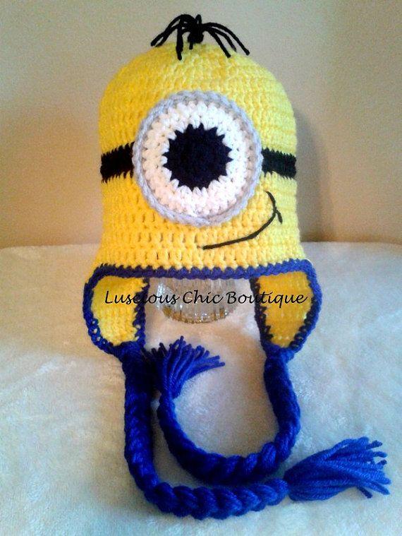 Minion Hat @jonea garay garay Vanlandingham