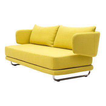 Rozkládací sedačka Jasper, žlutá   Bonami
