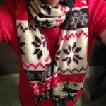 No-Sew Fleece Scarf Tutorial