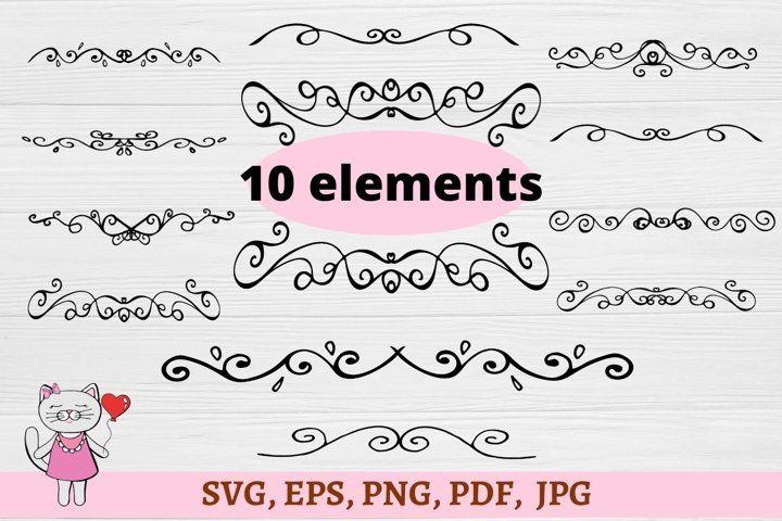 Divider Svg Flourish Svg Swirl Svg Scroll Svg Hand Drawn 581914 Hand Lettered Design Bundles In 2020 Lettering Design Hand Lettering How To Draw Hands