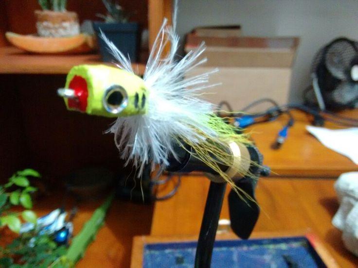 Popper fly fishing