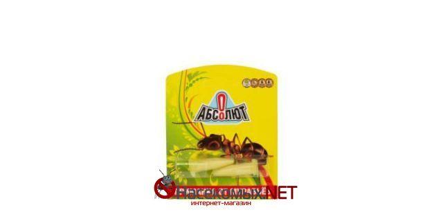 Инсектицидное средство - Абсолют. ДВ - хлорпирифос 0,5%. Основное назначение инсектицида – ликвидация садовых и домашних муравьев, по принципу эпидемиологического заражения. Купить средство Абсолют в нашем интернет-магазине.