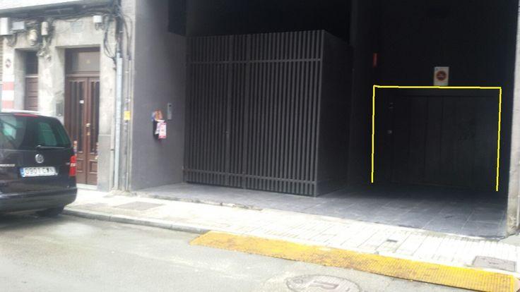 Garagem apertada e com subida em rua estreita
