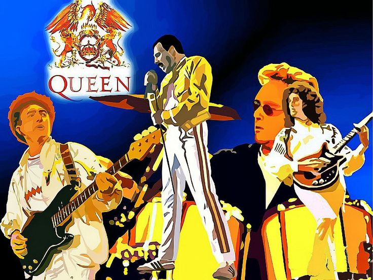 Queen Somebody to love (Artworks tribute II) Queen band