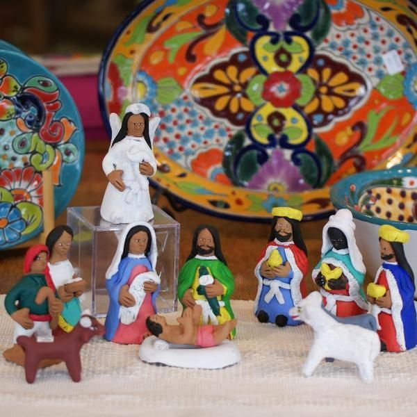 970 Best Mexican Christmas Decorations & Nativities Images