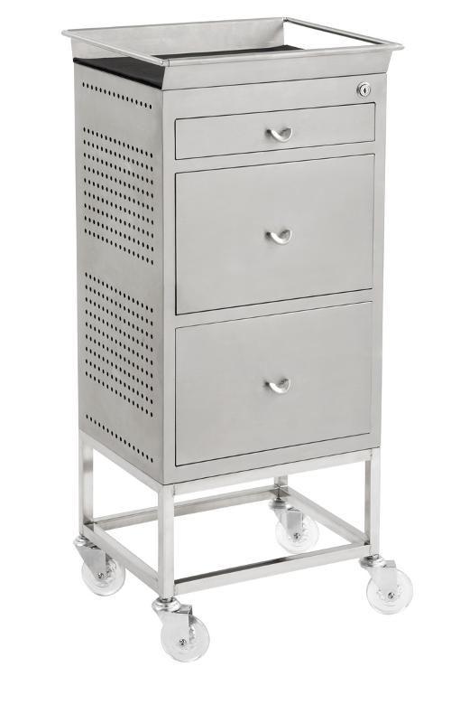 Hairdressing Salon Furniture - Hairdressing Supplies - Designer 3 Drawer Trolley
