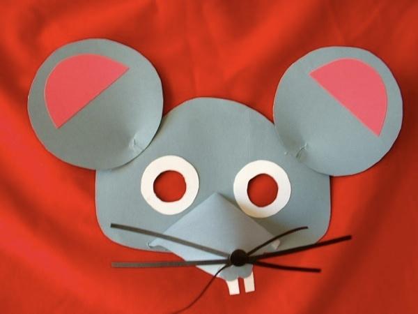 Verkleden: muizenmasker