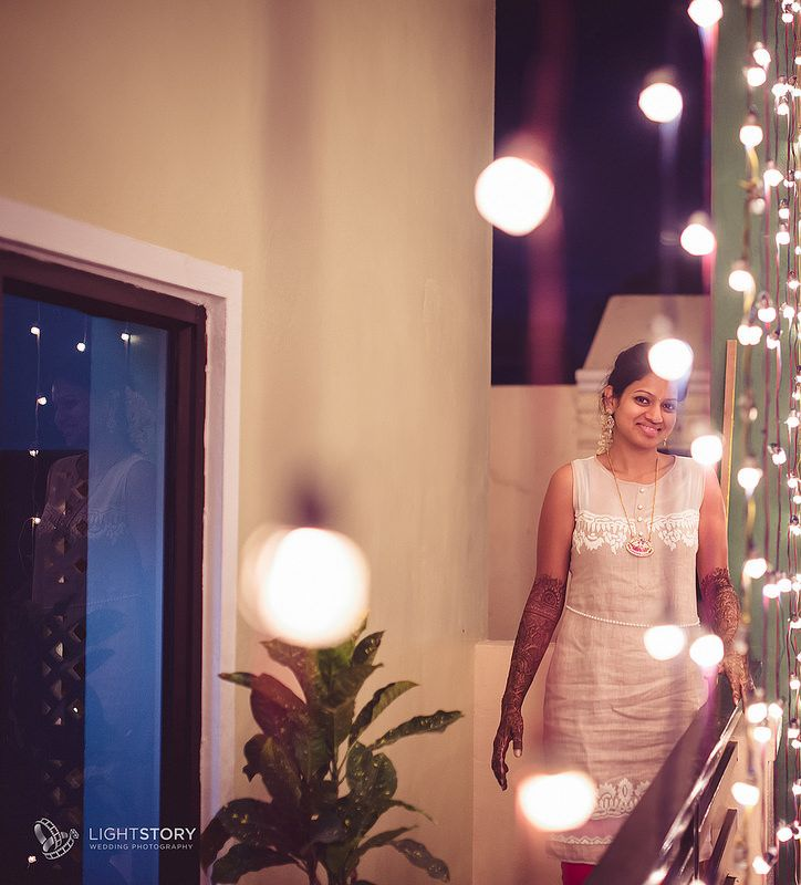 The Bride - lit up within and without | Bridal Portraits | Weddings by Light Story | www.lightstory.in