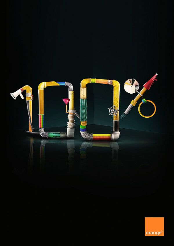 20 Creative Examples of Typography in Print Ads    Source: http://designmodo.com/typography-print-ads/#ixzz1u2n9MJm6