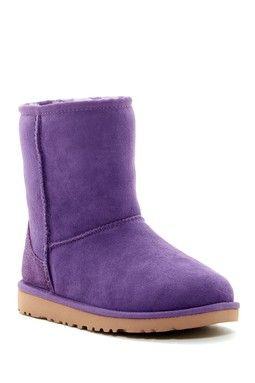 Classic Genuine Sheepskin Lined Boot (Little Kid